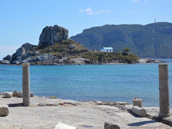 Ruïnes van de Agios Stéfanosbasiliek op Kos