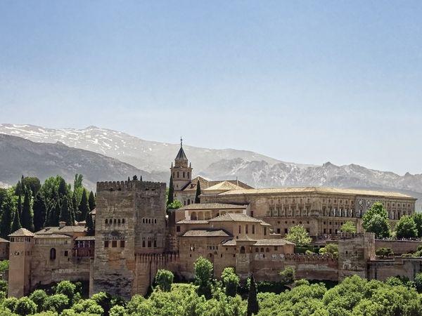 Het Alhambra in Grenada, Andalusië.