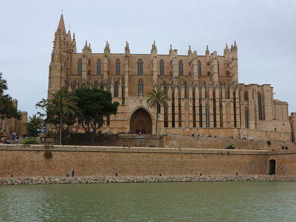 De kathedraal van Palma de Mallorca