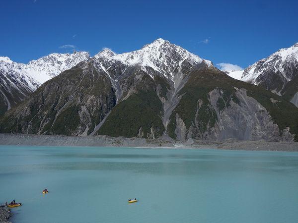 Mount Cook in Nieuw Zeeland