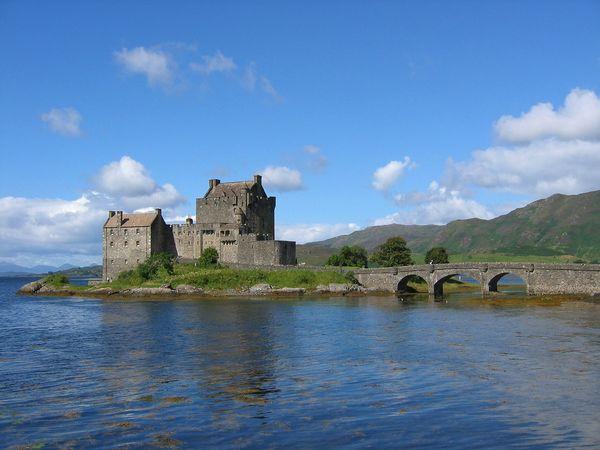 Het Eilean Donan Castle in Schotland