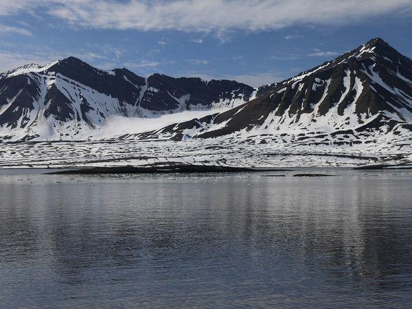 Gletsjer op Spitsbergen